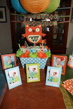 Angie's Laughing Place: Hoot, Hoot...It's Harper's Birthday Celebration