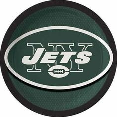 NFL New York Jets Lunch Plates And Napkins