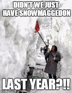 Be safe! Up to 18 inches of #snow this weekend. Meteorologists will probably change their forecasts again. #snowmaggedon2016