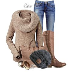 """Rockin The Beanie"" by tmlstyle on Polyvore"