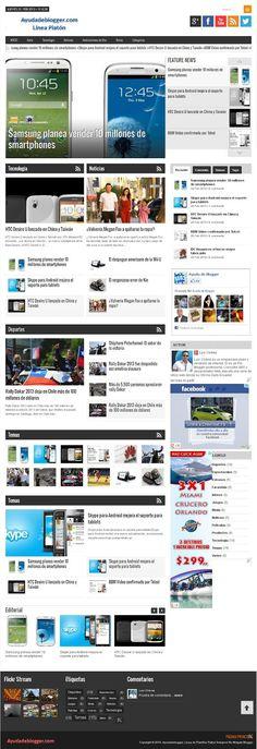 Tutorial de Plantillas para blogger Linea Libertad Plantillas Gratis - Widgets y Plugins para Blogger
