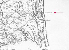 The Dividing Line between Virginia and North Carolina. It was surveyed by William Byrd, II and the Great Dismal Swamp.