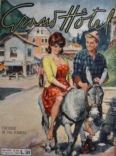 Grande Hotel, Pulp, Magazine Covers, Romance, Heaven, Painting, Memories, Cape Clothing, Retro Illustration