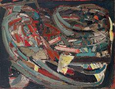 Composition Nicolas de Staël Date: 1947 Style: Art Informel