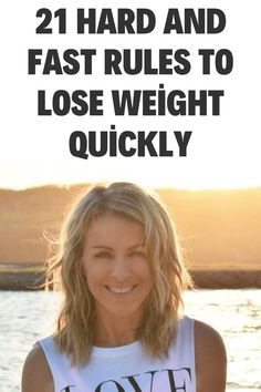 21 Hard and Fast Rules To Lose Weight Quickly Weight Loss Challenge, Weight Loss Goals, Weight Loss Motivation, Weight Loss Journey, Lose Weight In A Month, Weight Loss Inspiration, Weight Loss Transformation, Healthy Choices, Health Fitness