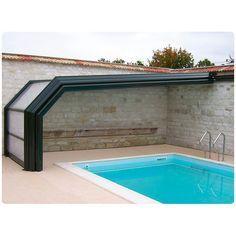 Como construir un piso para la piscina de lona? -