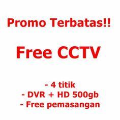 Beli rumah gratis cctv