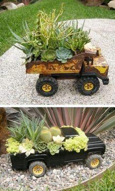 Use Toy Trucks