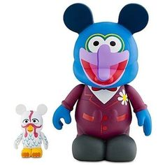 """Disney Vinylmation 9"""" Figure - Muppets #2 - 9"""" Gonzo with 3'' Camilla - Limited Edition"""