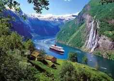 Norwegen fjord...