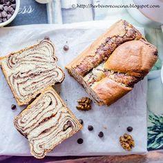 Povitica   Chocolate Walnut Swirl Bread for #Breadbakers. Chocolate ...