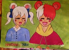 Hamtaro e Bijou versione manga❤️