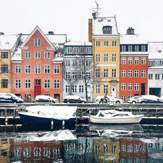 """www.littlerugshop.com """"Bicycling is the most common form of transportation in Copenhagen even in wintertime -- a discipline we call Viking Biking. It's not a statement; it's simply the smartest way to get around."""" -@astridkbh Copenhagen Denmark #passionpassport by passionpassport"""