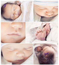 newborn photos at the hospital