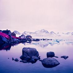 New York–based photographer Daniel Zvereff recently got a hold of some of the last remaining stock of expired Kodak Aerochrome film in 120 format, and he took it to the Arctic.