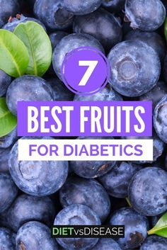 Fruits are delicious, but can be high in sugar. This article takes a science-based look at the most suitable fruits for those with diabetes. Learn more here: www.dietvsdisease...