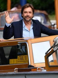 Bardem did not take Captain Salazar's boat to the event.