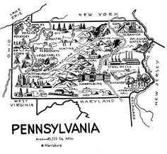 United States state symbols printables for Pa history