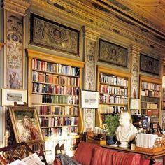 Il Duca di Devonshire nella sua biblioteca a Chatsworth!!!
