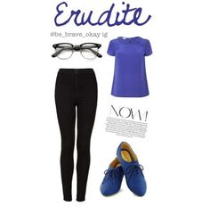 Divergent inspired outfits 3/5 ~Erudite