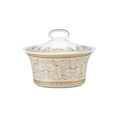 Discover the Versace Medusa Gala Sugar Bowl at Amara