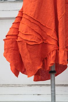 poppydance freeform linen lagenlook tunic, via Flickr.