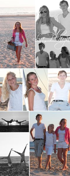 Strandfoto's #strand #beach #playa #plage #photo #sister #brother #Egmond