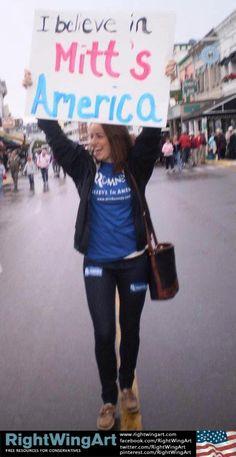 I believe in #Mitt's America!!