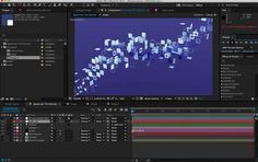 An incoherent semi-tutorial video to accompany this project file. http://najork.net/tileparticles.zip  Using After Effects CC 2014 & Trapcode Particular 2.2    Feel free to give some attribution if you adapt this into something cool.