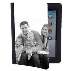 Black & White Custom Photo iPad Case
