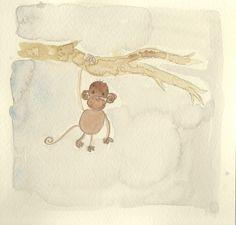 Monkey in the jungle❤️❤️