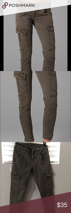 J brand Cargo Jeans J Brand Houlihan Twill Cargo Jeans J Brand Jeans Ankle & Cropped