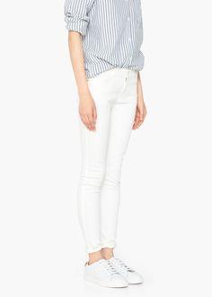 Skinny paty jeans -  Women | MANGO