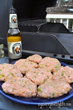 Grilled Turkey Ranch Burgers on the Grill