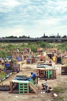 Timmerdorp: These Dutch Kids Built An Entire Village In 4 Days
