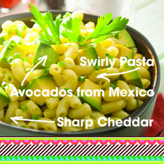 Take #ComfortFood to a new level with creamy Macaroni and Cheese using Avocados From Mexico, always Made With Love. #AvocadoLover #recipe