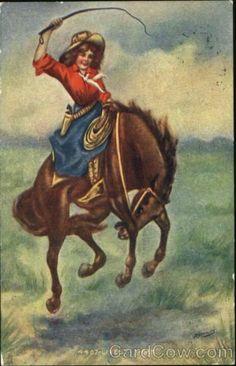 Cowgirl buckaroo