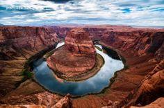 canyon, river