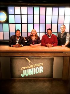 I join the Judge's table on this Tuesday EST on Chopped Junior, Food Network Recipes, Tuesday, Join, Cooking, Table, Kitchen, Tables, Desk
