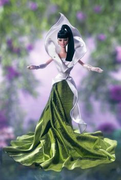 The Calla Lily Barbie® Doll | Barbie Collector <>inspired by my favorite flower. I have this doll: she's gorgeous!!!