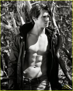 Star Hollywood: Steven R. McQueen: Shirtless For Abercrombie & Fitch's Making Of Star Campaign!