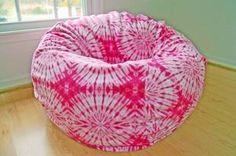 Tie Dye Fleece (many colors) Hot Pink Furniture, Bean Bag Furniture, Pink Bean Bag, Running Horses, Color Splash, Bean Bag Chair, Tie Dye, Arts And Crafts, Colors