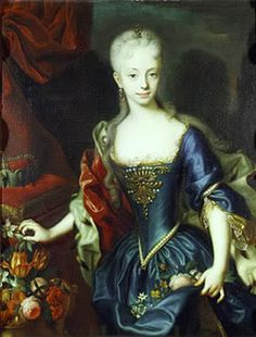 young Maria Theresa by Andreas Moeller