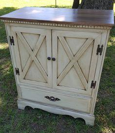 Repurposed chest of drawers by Kim's Kreations www.facebook.com/kkspurdys
