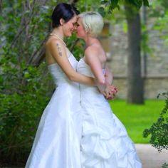 Lesbian wedding. The best kind of wedding.