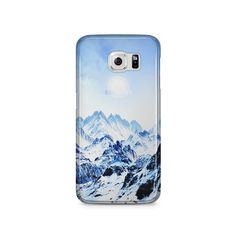 Snowy Samsung Galaxy S6 Clear Case