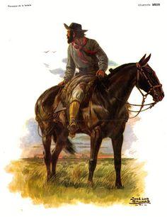José Luis salinas - Buscar con Google Cowboy Art, Rio Grande Do Sul, Red Dead Redemption, Le Far West, Cowboys, Westerns, Lion Sculpture, Horses, Statue