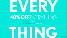 Coupon Design, Fashion Story, Coupons, Shop Now, Designers, Loft, Design Inspiration, Flyers, Melbourne