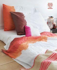 dip dye - bed