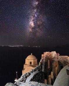 At unique Santorini Greece